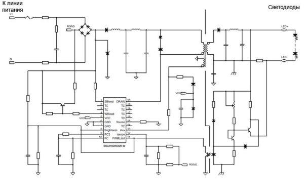 ...(например, тиристоры и транзисторы), требует небольшого количества навесных элементов в схеме включения и идеально...