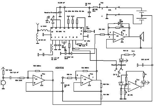 Принципиальная схема радиостанции р-107 т.