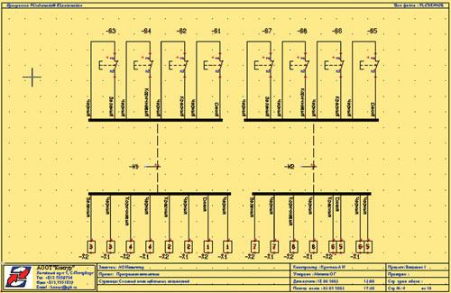 Вид графического плана (схемы)