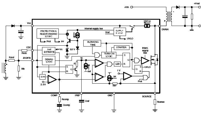 ALTAIR05T-800, ШИМ-контроллер