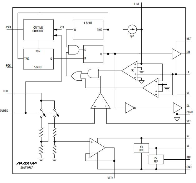 контроллер питания DDR