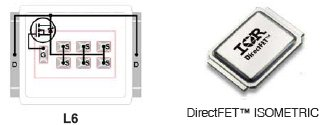 IRF6718, N-Channel HEXFET Power MOSFET in a DirectFET L2 package