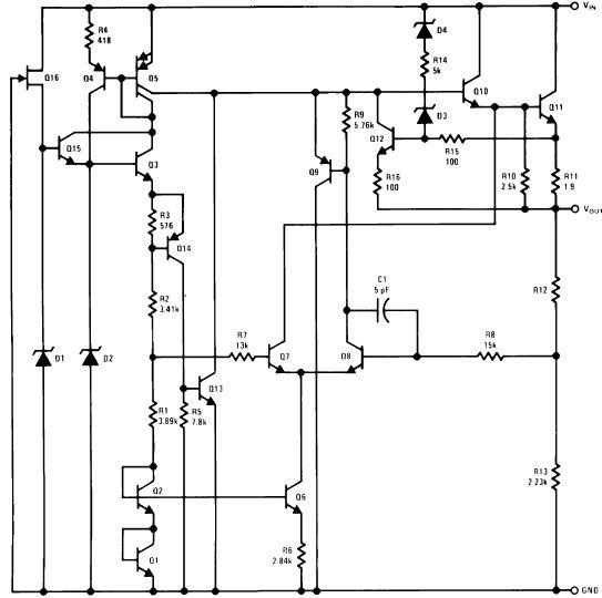 LM78L15 - Регуляторы напряжения линейные - регуляторы напряжения - питание - микросхемы - импортные электронные...