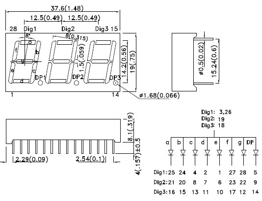BA56-11EWA, 7-сегментный