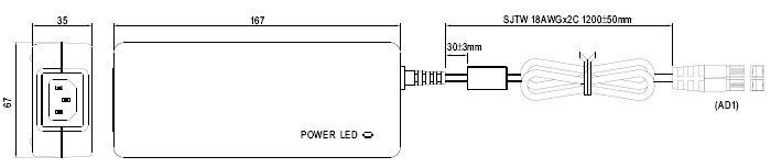 GC120A12-AD1, Энергосберегающее зарядное устройство для батарей...