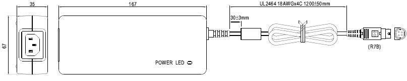 GC120A12-R7B, Энергосберегающее зарядное устройство для батарей...