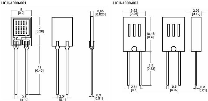 HCH-1000, Емкостной датчик